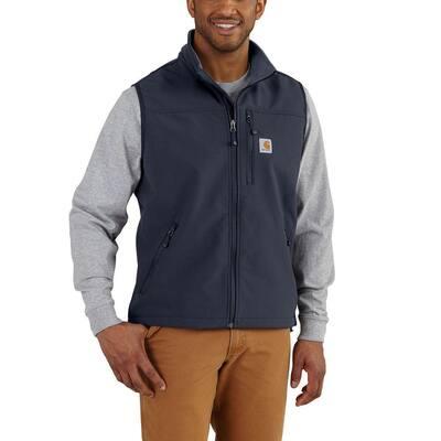 Men's X-Large Tall Navy Nylon/Spandex Denwood Vest