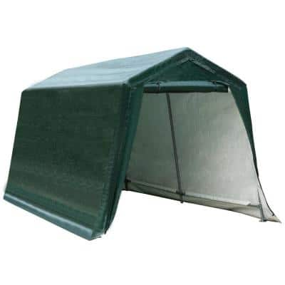8 ft. x 14 ft. Patio Tent Carport Storage Shelter Shed Car Canopy Heavy Duty Green