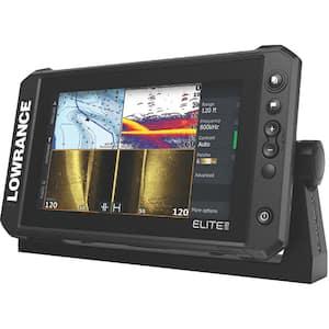 Elite FS 9 Fishfinder/Chartplotter w/C-MAP Contour+ & Active Imaging 3-in-1 Transducer