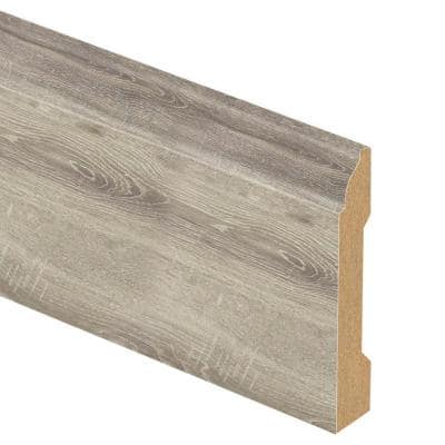 Cross Cut Cliffside 9/16 in. Thick x 3-1/4 in. Wide x 94 in. Length Laminate Base Molding