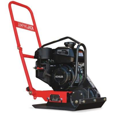 4.5 HP Kohler Vibratory Plate Compactor Tamper for Soil Compaction with 3-Year Warranty