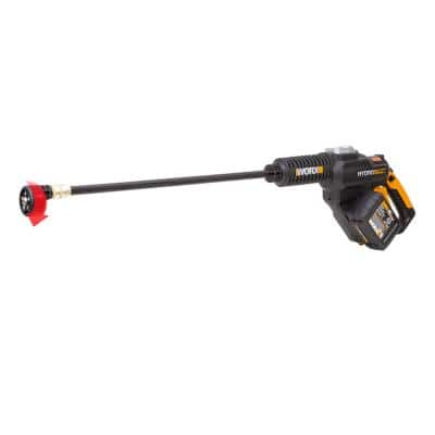 POWER SHARE 20-Volt Li-Ion 4.0 Ah 350 PSI 0.92 GPM Electric Hydroshot Portable Pressure Washer