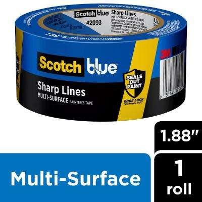 ScotchBlue 1.88 in. x 60 yds. Sharp Lines Multi-Surface Painter's Tape with Edge-Lock (Case of 18)