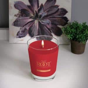 Veriglass Hollyberry Scented Filled Jar Candle