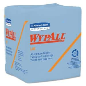 L40 Wiper, Quarter-Fold, Blue, 12-1/2 in. x 12 in., 56/Box, 12 Boxes/Carton