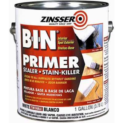 1 gal. B-I-N Shellac-Based White Interior Primer and Sealer