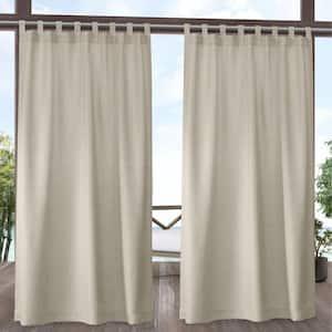 Sand Tab Top Room Darkening Curtain - 54 in. W x 108 in. L (Set of 2)