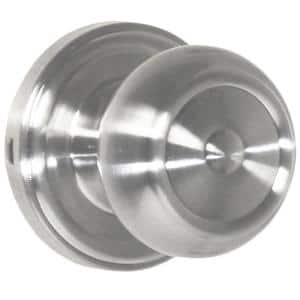Traditionale Satin Nickel Half-Dummy Savannah Door Knob