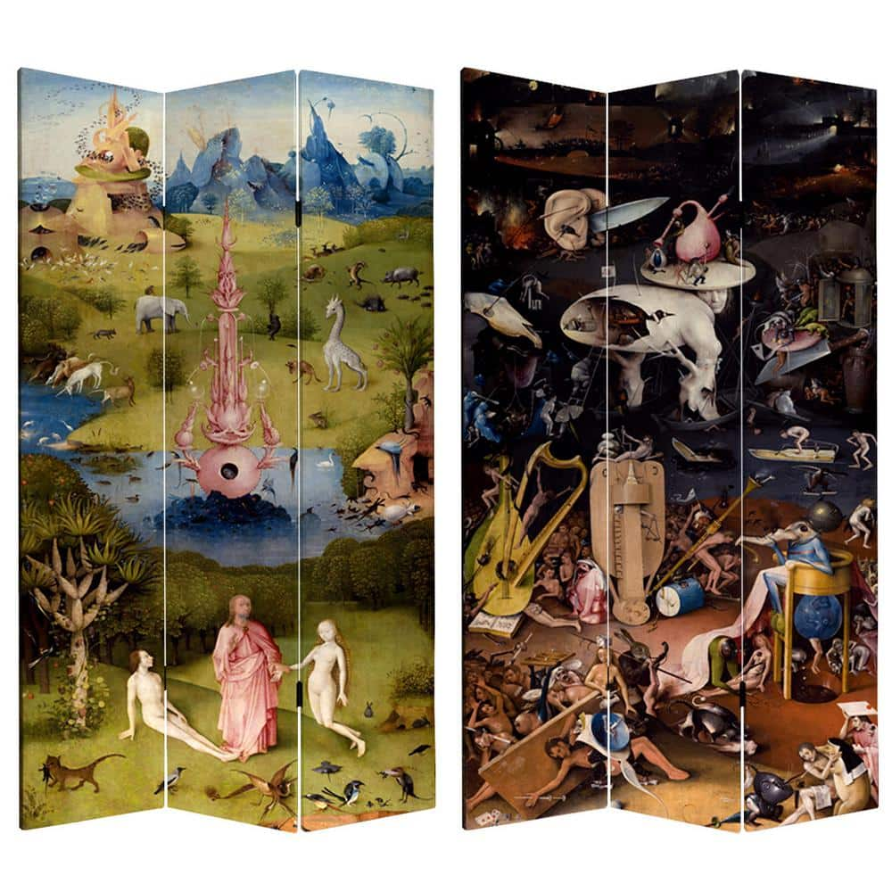 Oriental Furniture 7 Ft Printed 3 Panel Room Divider Can Bosch1 The Home Depot