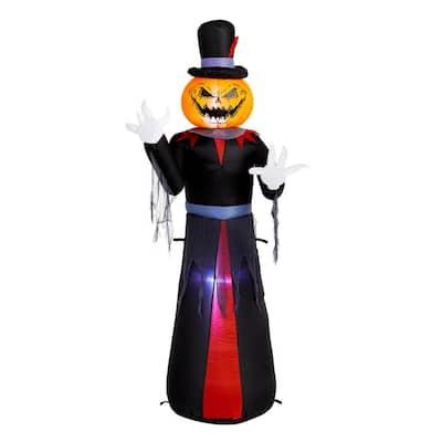 5 ft. Pumpkin Head Reaper Airblown Halloween Inflatable