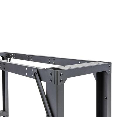 4 ft. to 6 ft. Adjustable Steel Workbench Frame