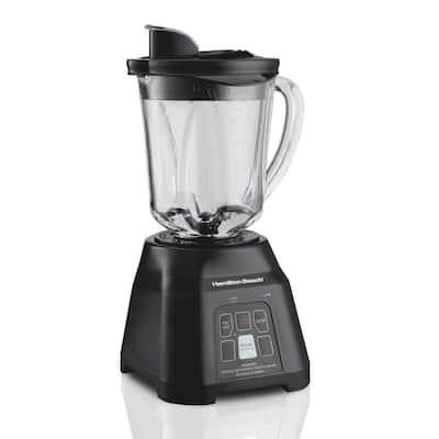 40 oz. 2-Speed Black Glass Smoothie Smart Blender