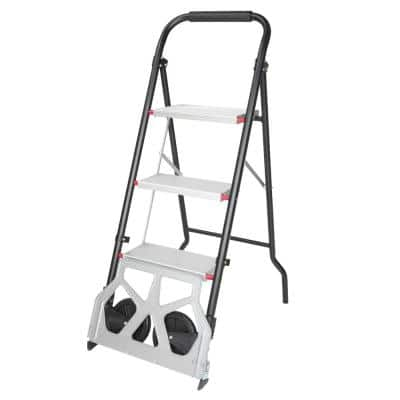 176 lbs. Capacity 2-In-1 Folding Hand Truck Dolly
