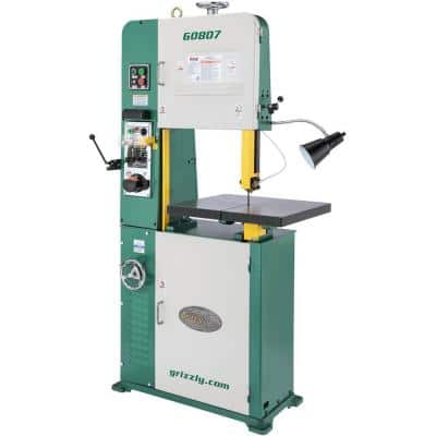 """18"""" Variable-Speed Vertical Metal-Cutting Bandsaw"""