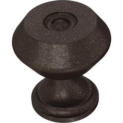 Refined Farmhouse 1-3/16 in. (30 mm) Cocoa Bronze Cabinet Knob