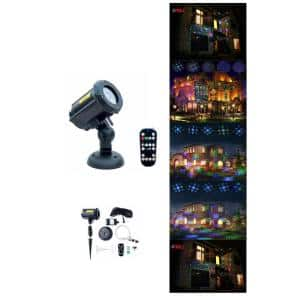 Motion Pattern Firefly 3 Models in 1 Continuous 18 Patterns LEDMALL RGB Outdoor Laser Garden and Christmas Lights