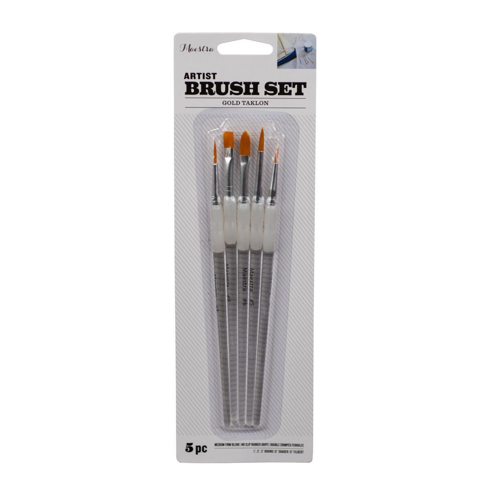 Artist Paint Brush Set (5-Piece)