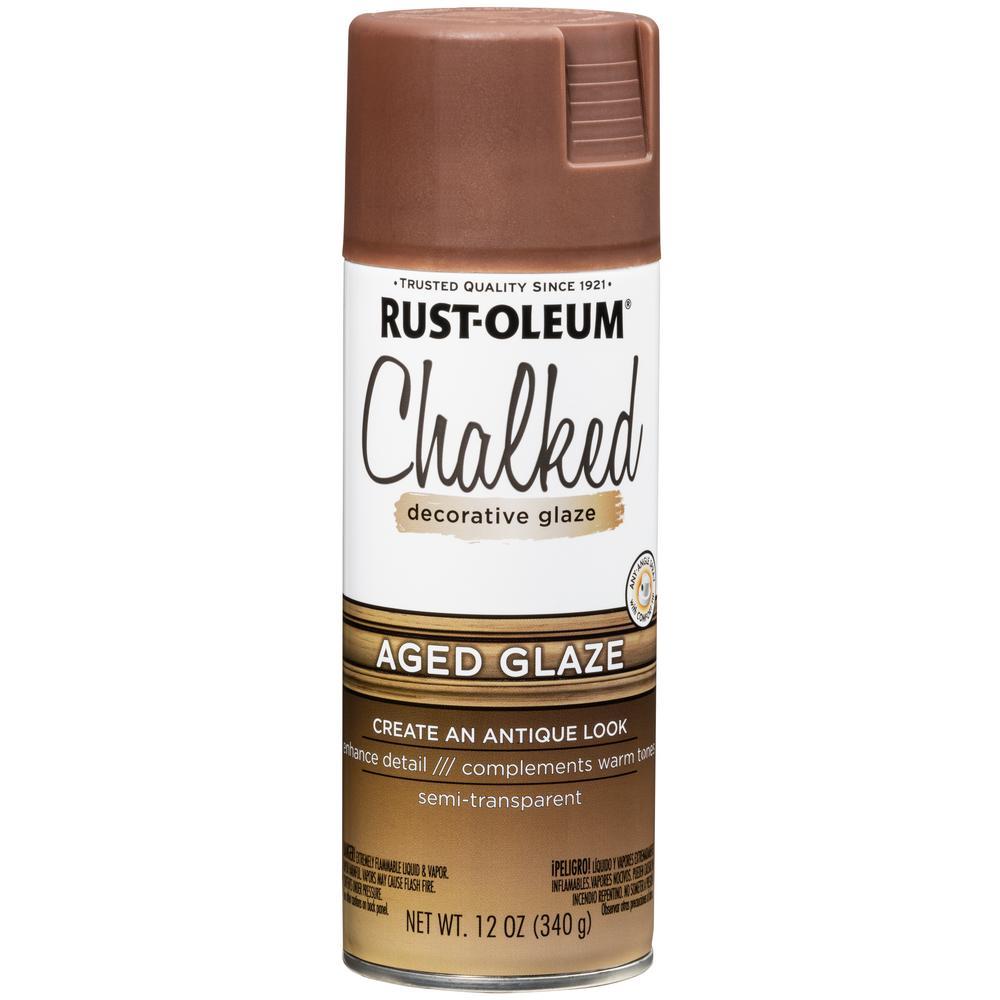 12 oz. Chalked Aged Decorative Glaze Spray