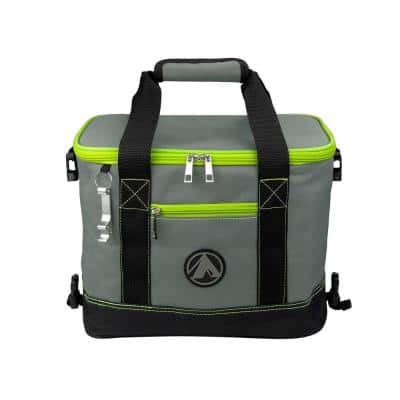 12-Bottle / 6 qt. Collapsible Soft Cooler with Bottle Opener