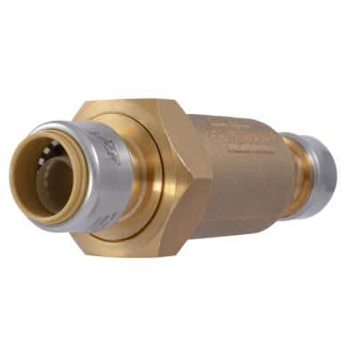 3/4 in. BF-1 Series Dual Check Backflow Preventer with SharkBite Connections