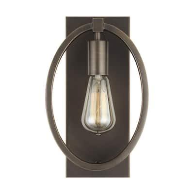 Marlena 1-Light Antique Bronze Sconce
