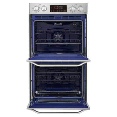 30 in. Smart Double Electric Built-In Wall Oven with Self-Cleaning in Stainless Steel