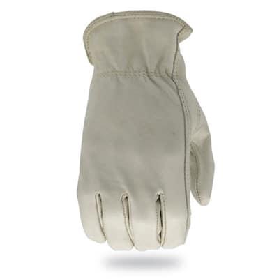 TM Medium Leather Driver Work Gloves