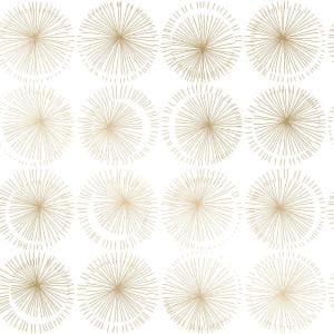 Goodbye Moon Metallic Gold Peel and Stick Wallpaper (Covers 56 Sq. Ft.)
