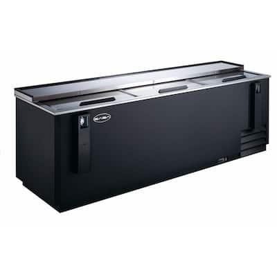95.25 in. 37.5-Bottle (12 oz. Cases) or 55-Can (12 oz. Cases) Bottle Cooler Refrigerator