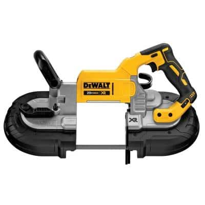 20-Volt MAX XR Cordless Brushless Deep Cut Band Saw (Tool-Only)