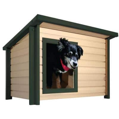 ECOFLEX Lodge Style Dog House - Medium