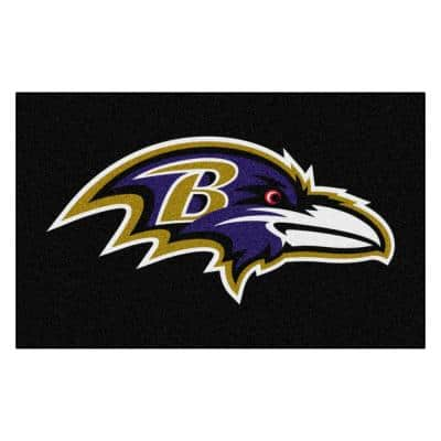NFL - Baltimore Ravens Rug - 5ft. x 8ft.