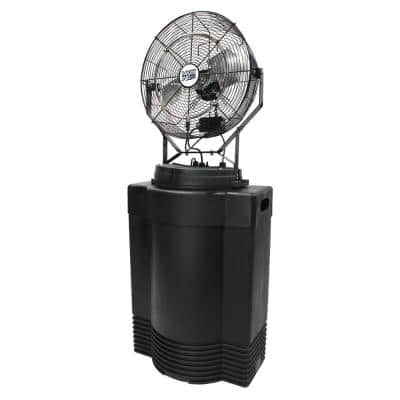Mid Pressure 18 in. Misting Fan with Tank