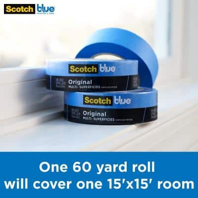 ScotchBlue 1.41 in. x 60 yds. Original Multi-Surface Painter's Tape (6-Pack)