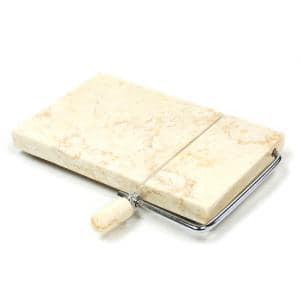 Byzantine Champagne Marble Cheese Slicer