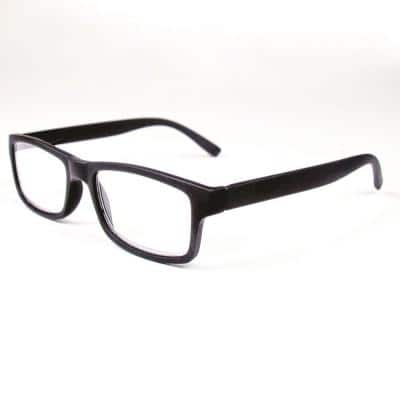Reading Glasses Retro Black 1.5 Magnification