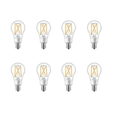 60-Watt Equivalent A15 Dimmable Intermediate Base LED Light Bulb Soft White with Warm Glow Dimming Effect (8-Pack)