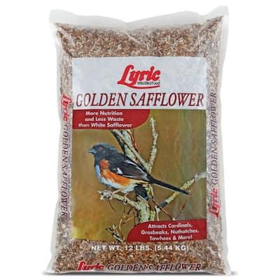 12 lbs. Golden Safflower Wild Bird Seed