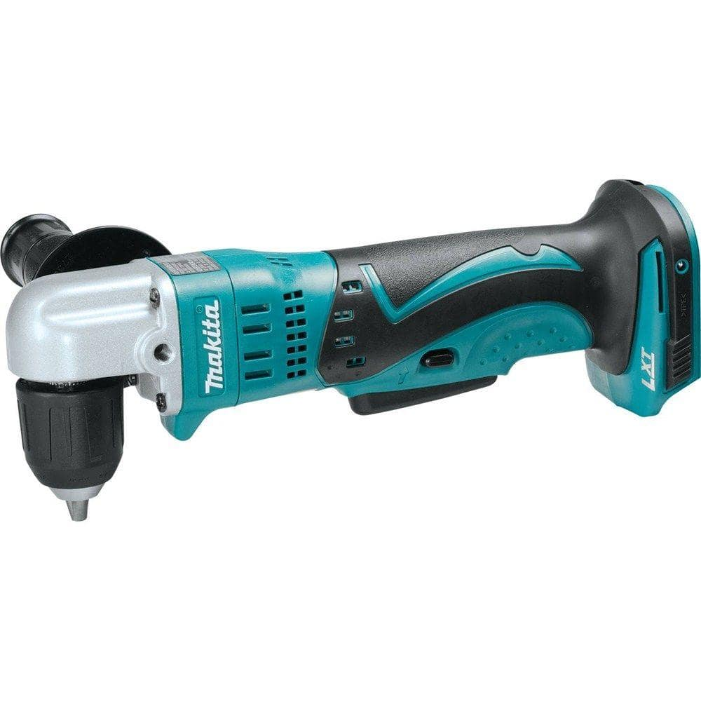 Makita 18 Volt Lxt Lithium Ion 3 8 In Cordless Angle Drill Tool Only Xad02z The Home Depot