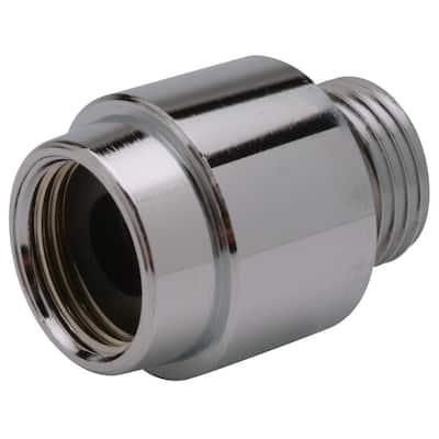 1/2 in. Dia Chrome-Plated Brass In-line Vacuum Breaker