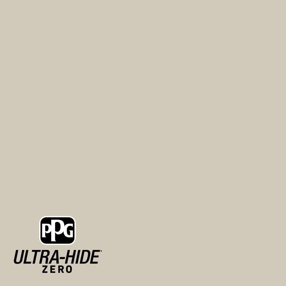 Ppg Ultra Hide Zero 5 Gal Ppg1024 4 Moth Gray Satin Interior Paint Ppg1024 4z 05sa The Home Depot