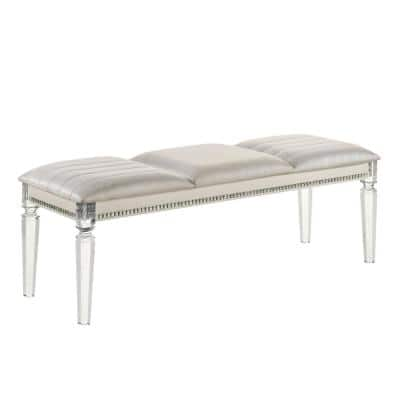 Acrylic Entryway Benches Entryway Furniture The Home Depot