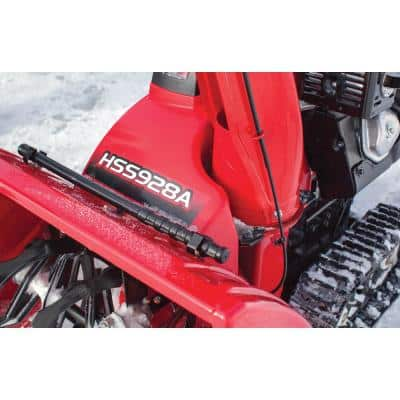 28 in. Hydrostatic Track Drive 2-Stage Gas Snow Blower with Electric Joystick Chute Control