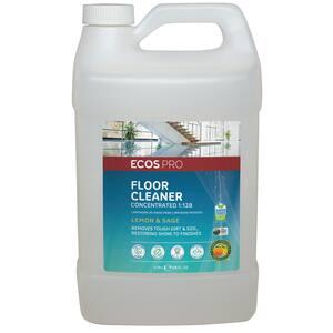 128 oz. Neutral Floor Cleaner Lemon-Sage 1:128 Concentrate