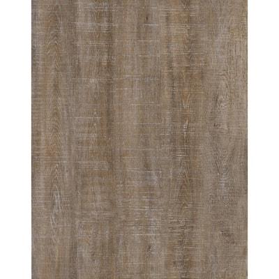 Roughcut Lumber Siena 4 in. x 36 in. Peel snd Stick Wall and Floor Luxury Vinyl Planks (20 sq. ft. per case)