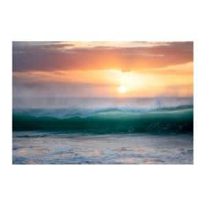 Sunrise Mist by Colossal Images Canvas Wall Art 18 in. x 24 in.