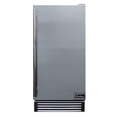 3.41 cu. ft. Built-In/Freestanding Outdoor Refrigerator in Stainless Steel