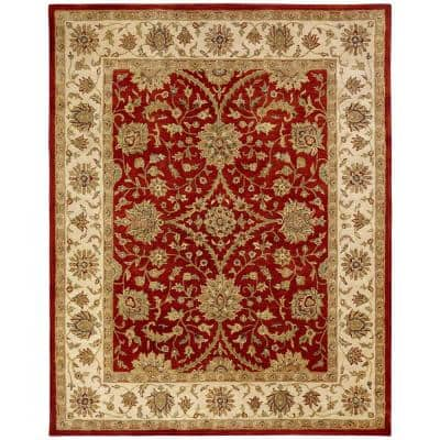 Empire Rust/Ivory 8 ft. x 10 ft. Area Rug