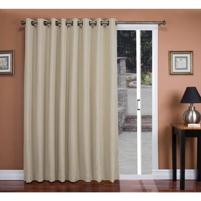 Parchment Grommet Blackout Curtain - 106 in. W x 84 in. L