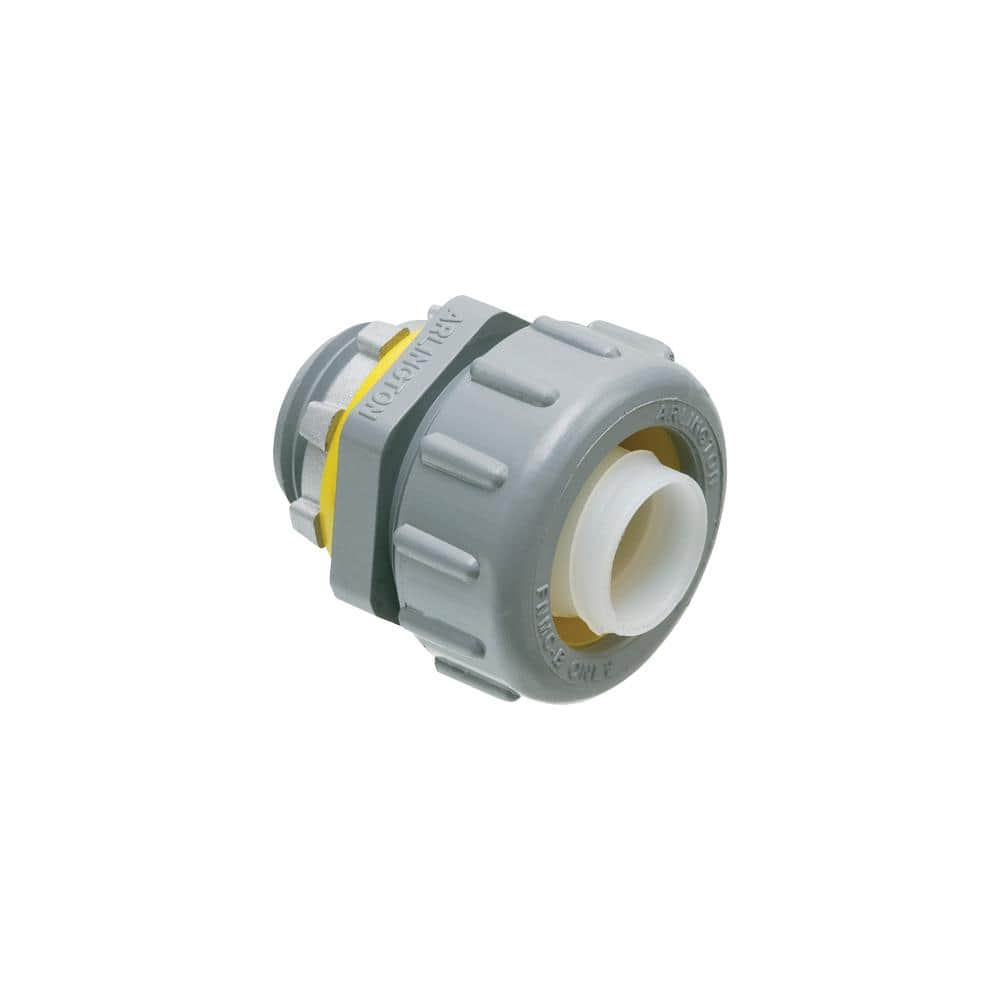 Details about  /Arlington Screw-In Connector For Flexible Metal Conduit 1-1//4 GF125 Box of 10